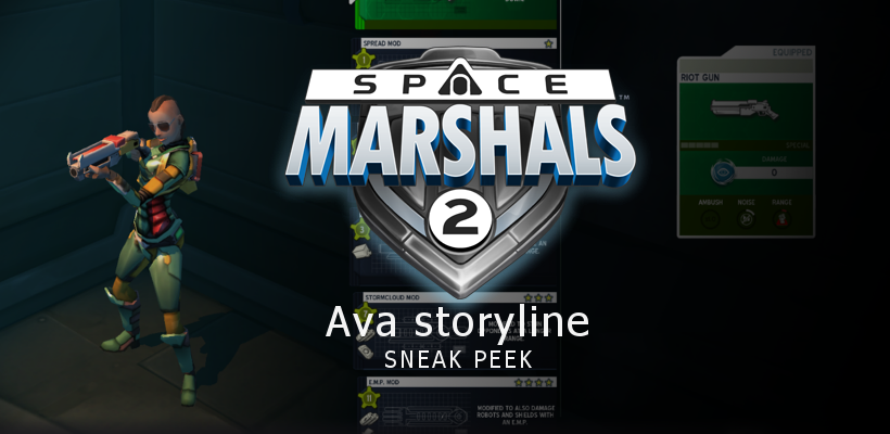 SNEAK PEEK: Space Marshals 2 – Ava Mission Pack